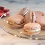 Easy French Macarons (Nut-Free): Strawberry Cheesecake