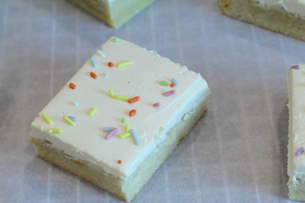 Birthday Cake Cookie Bars