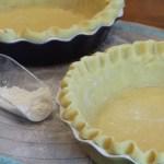 Homemade Sweet Pie Crust