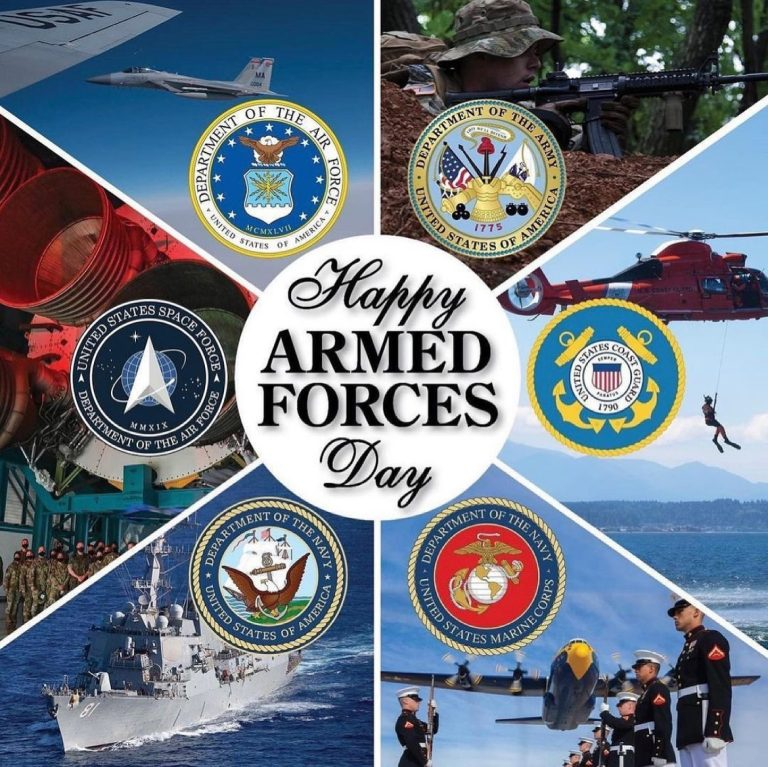 Happy Armed Forces Day to all my brothers and sisters! ❤️🇺🇸 Amy Lock Hart