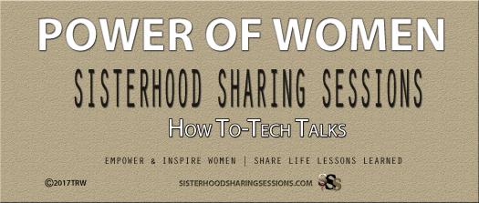 Power Of Women | Sisterhood Sessions | How To Tech Talks