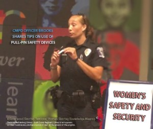 CMPD OFFICER BROOKS SHARES SAFETY TIPS TIPS