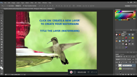 Convert Your Logo Into A Watermark