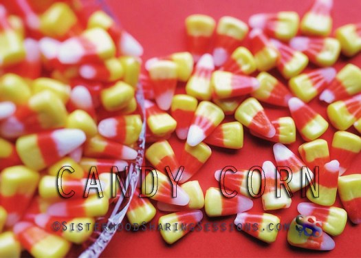 Candy Corn, Caramel Apples, And Carved Pumpkins