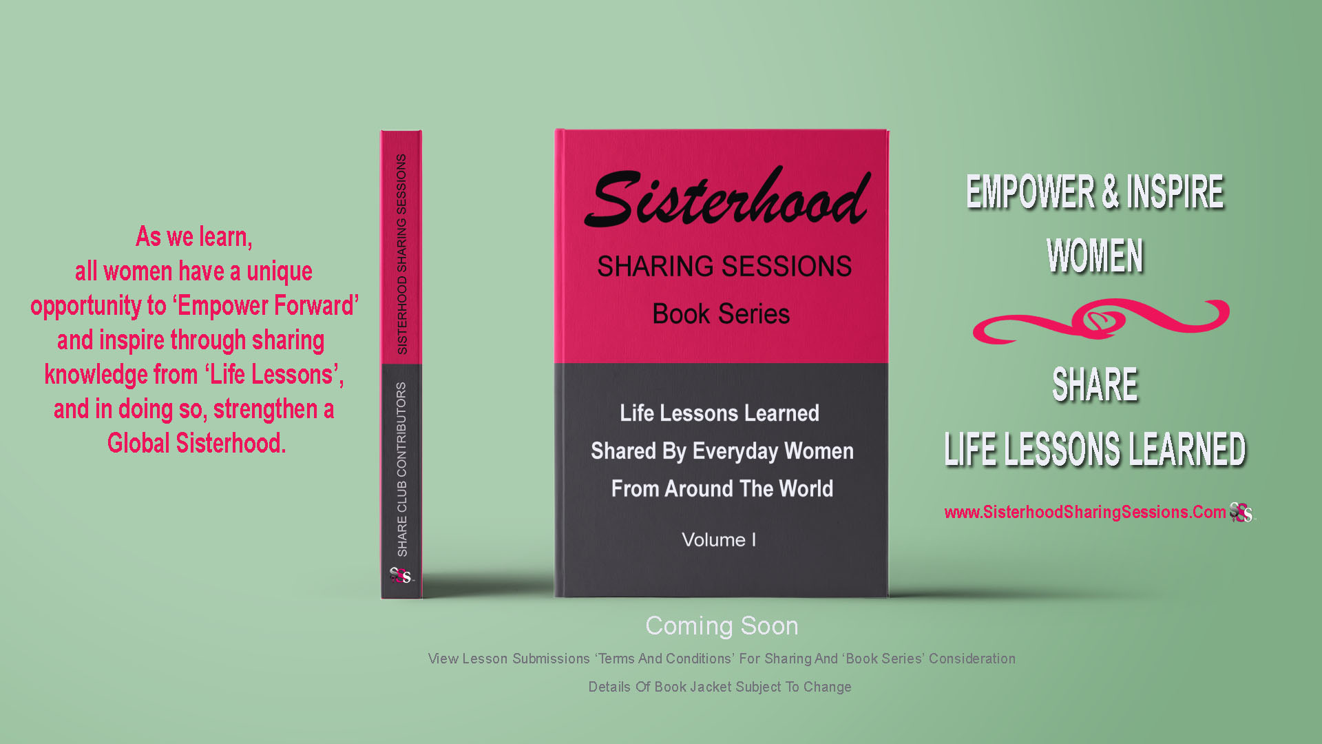 Sisterhood Sharing Sessions Book Series
