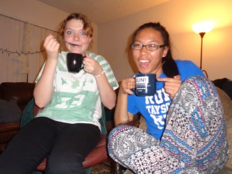 Exchanges in Glendale with Sister Colson! We had hot chocolate because it was cold (aka 50 degrees...)