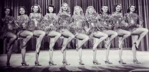Chorus Girl Kick Line
