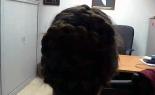 Kendall's Braided Hair