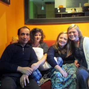 Sister Schill and Sister Runyan with Avelino and Xeca