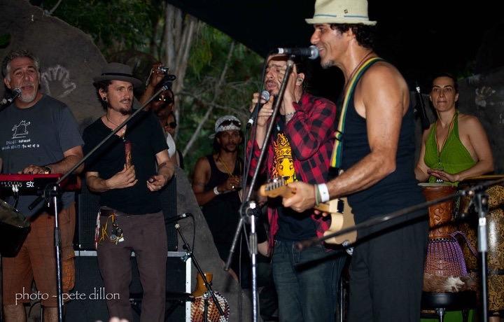 JB, NB, Carlos, Reggae Town 2010 copy