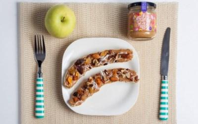Tip: Snack Divertido y Saludable con Sisterly Nuts y Bananas
