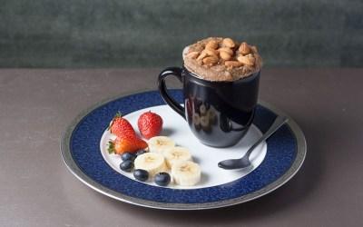 Mug-Cake de Almendras en 5 minutos con Sisterly Nuts