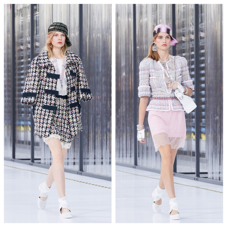 SISTERLY STYLE IN #DataCenterCHANEL AT PFW