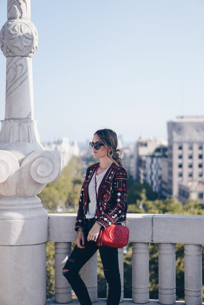 Sisterly Style In Barcelona