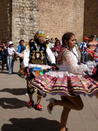 Dancers in Cusco