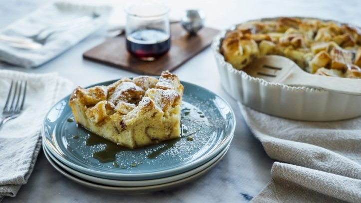 French Toast Casserole with Egg Nog Hero 960x540