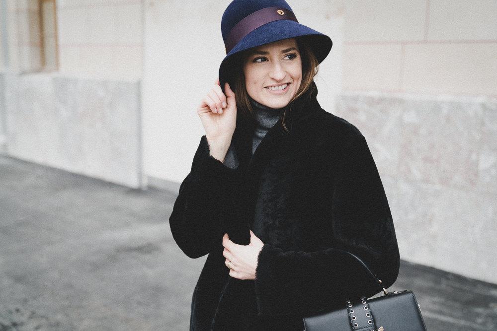 Streetstyle – Cloche hat