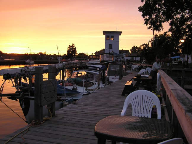 The ICW has perfect places to tie up and enjoy the unique lights of dusk