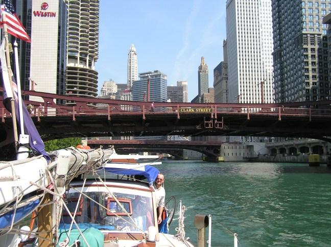 Puttering through Chicago