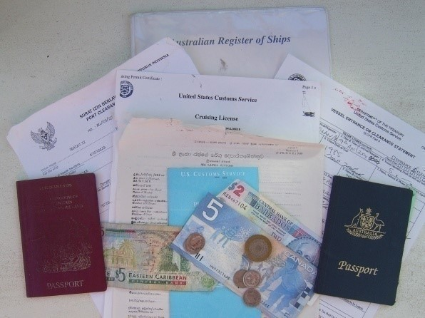 Onboard paperwork and documentation