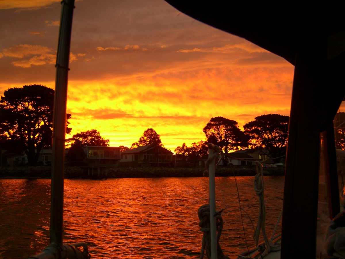 Sunset in Greenwell Point NSW