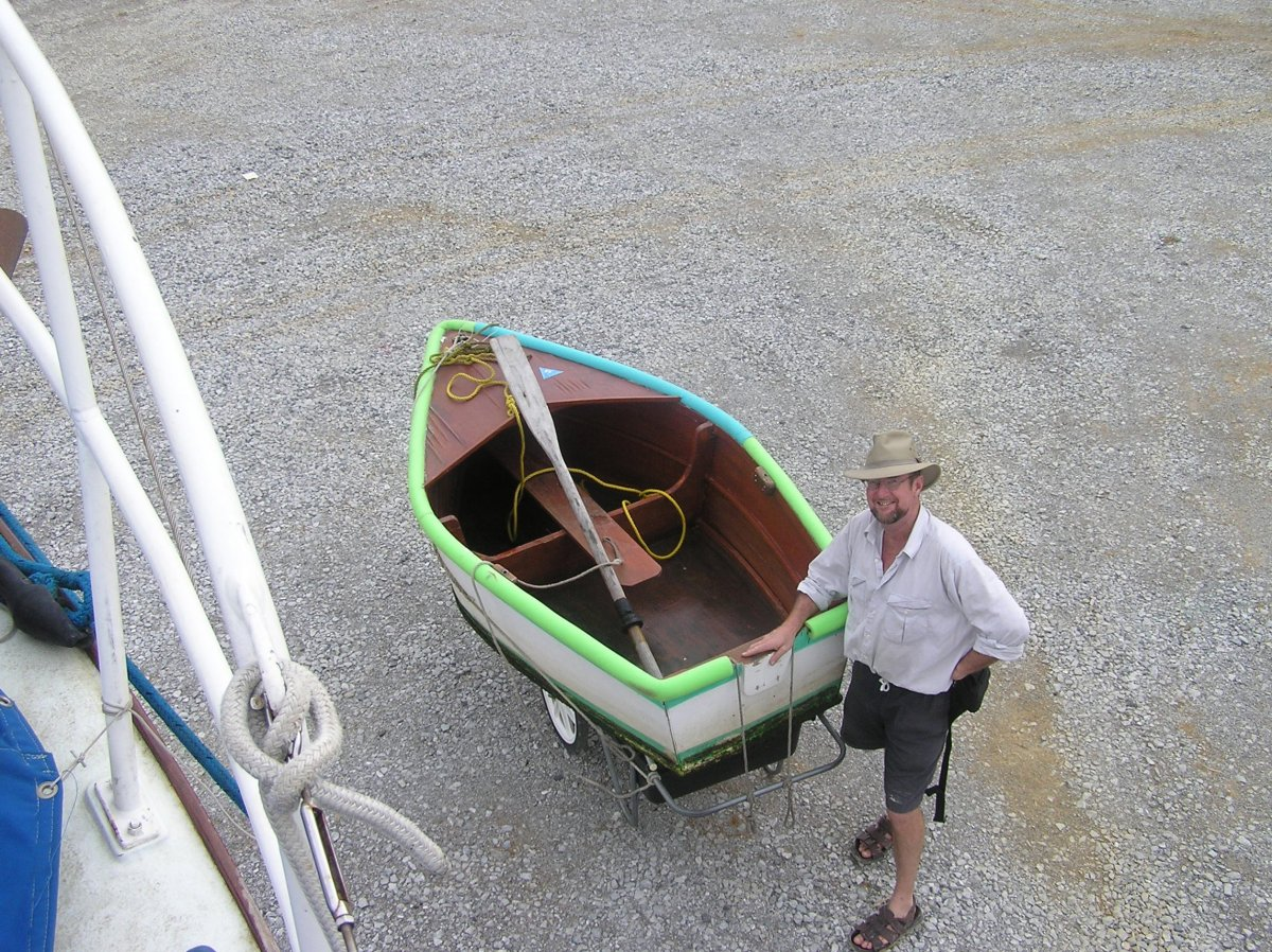 The new dinghy!