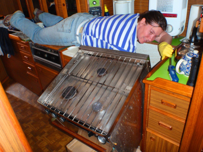 Cleaning in tricky places - don't sweat the small stuff!