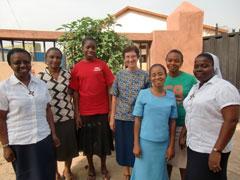 HVM sisters in Abuja