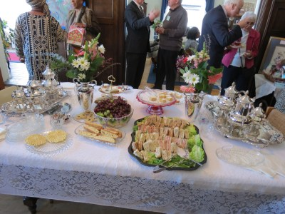 Delicious food and deserts provided by SHVM fund raising committe