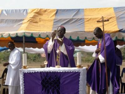 Bishop Michael Apochi, Bishop, Cth. Diocese of Otukpo - Opening Mass