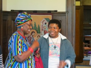 Margaret Ehiemere and Sr. Chioma