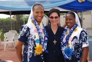 Sr. Barbara with celebrants