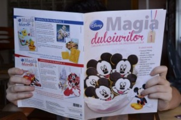 Revista Disney - Magia Dulciurilor