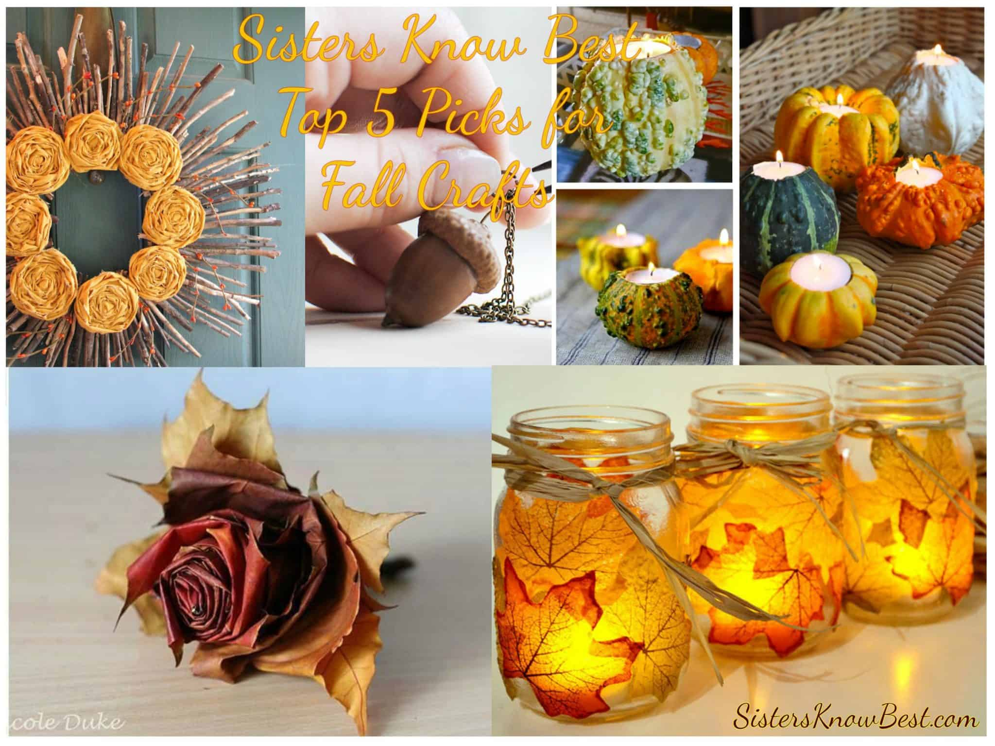DIY Fall Crafts For The Family