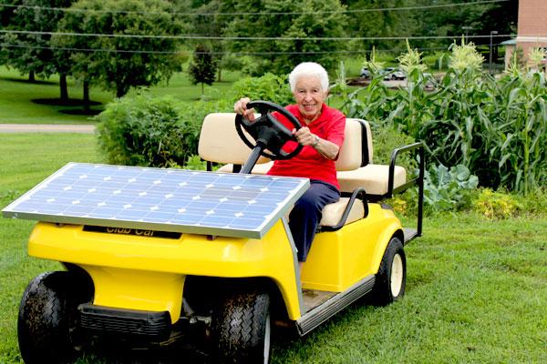 Sister Paula Gonzalez Sisters of Charity Cincinnati environmental sustainability