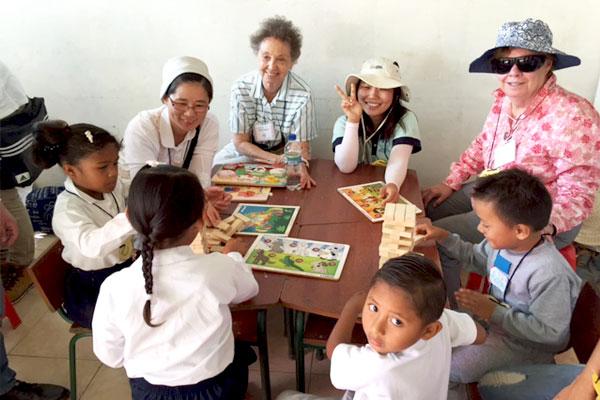 Seton Hill sisters in Ecuador