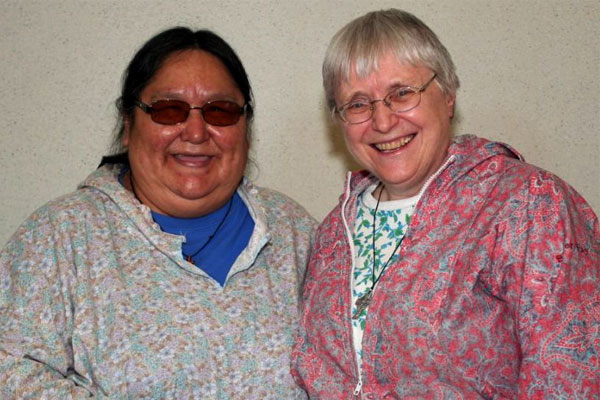 Sister Fay Trombley, SCIC ministers in northern Canada