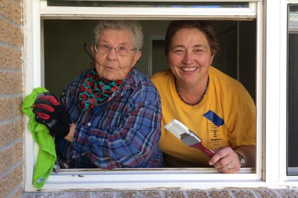 S Theresa Joseph Kramer SCH and Sister Idea Rowlan NDSC