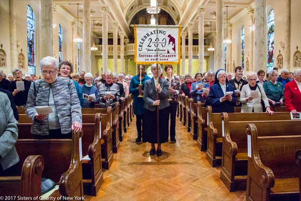 Evening Prayer celebrating 200 years for Sisters of Charity New York