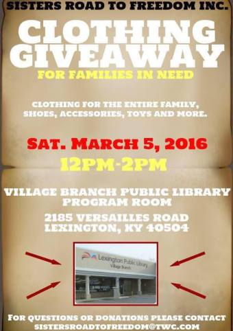 Clothing Giveaway March 2016