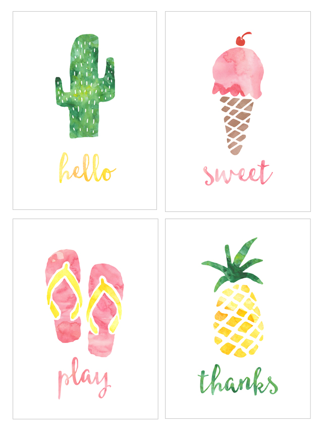 summer-watercolor-note-cards