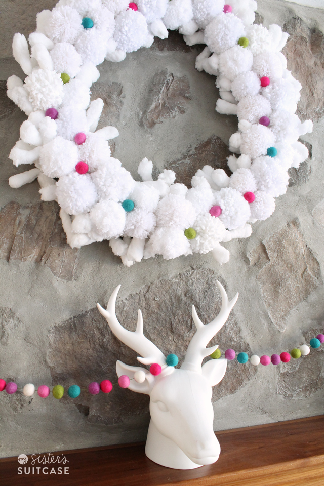 Inexpensive Christmas Garland