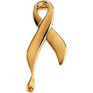 Ribbon of Tears Lapel Pin