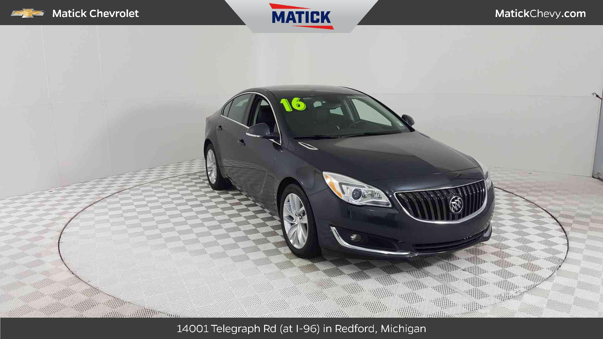hight resolution of 2016 buick regal vehicle photo in redford mi 48239