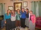 Sisters in my District: Me, Sister Jackson, Sister VanDyke, Sister Eggett, Sister Ramsden, and Sister Drollinger