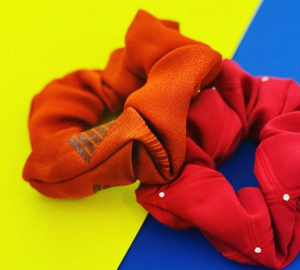 Satomi - Kimono Silk Scrunchies