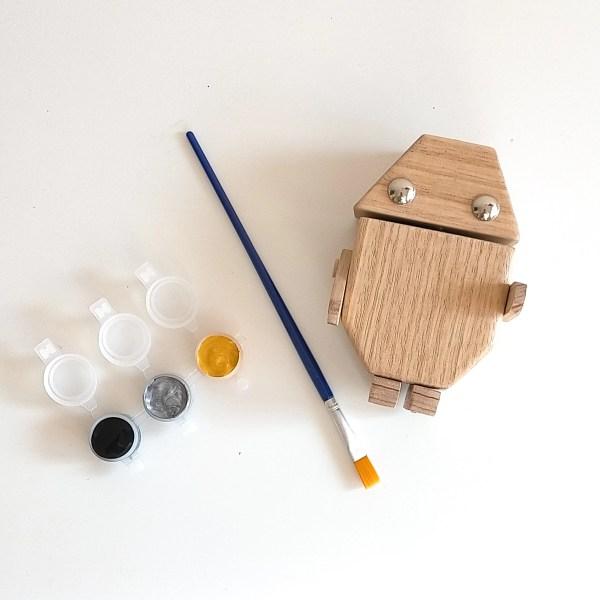Fernanda-Wooden Robot Craft Kit