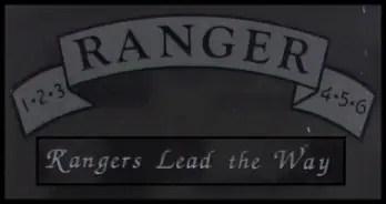 Ranger Name Plate 2