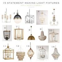 15 Statement Making Light Fixtures - Sita Montgomery Interiors