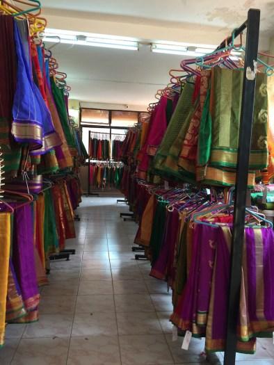 The saree shop